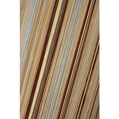 Кисея нитяная штора на кулиске радуга №103 (R-103), фото 1
