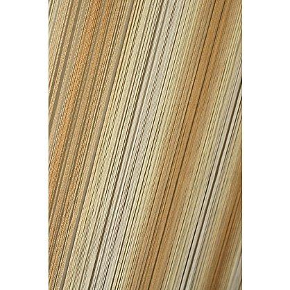 Кисея нитяная штора на кулиске радуга №123 (R-123), фото 1