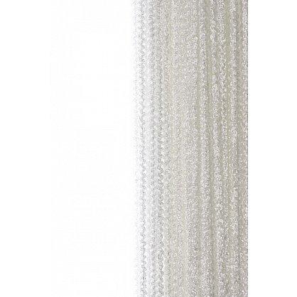 Кисея нитяная штора на кулиске облака - Белая (Ob-1), фото 1