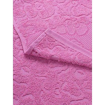 """Полотенце махровое 50*100 """"Португалия"""" new модель Viola розовый 25 (172132), фото 2"""