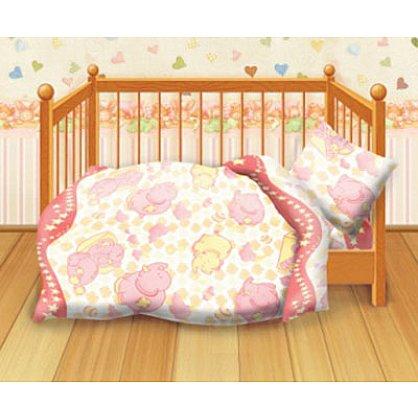 КПБ детский бязь 'Кошки-мышки' КДКм-1 рис.8547-1 Спокойной ночи (262027), фото 1