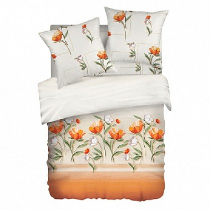 КПБ 1,5 Lux Cotton 'Romantic' КБR-11 рис. 11562/11563 вид 2 Джульетта (285625), фото 1