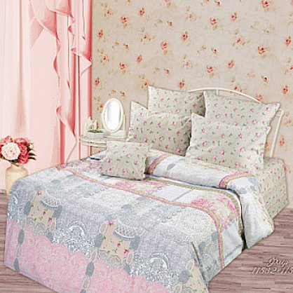 КПБ 5-ти предм Lux Cotton 'Romantic' КБR-31 рис. 11532/11533 вид 1 Флёр (277427), фото 2