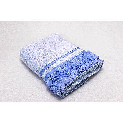 Полотенце Roses, голубой 50*90 (2000000000411-g), фото 1
