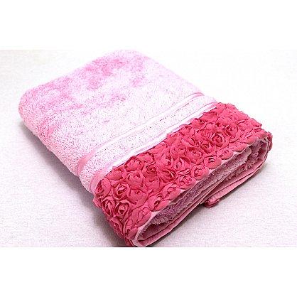 Полотенце Roses, розовый 50*90 (2000000000411-r), фото 1
