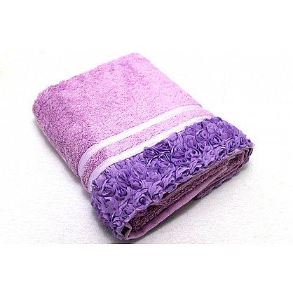 Полотенце Roses, фиолет 50*90 (2000000000411-f), фото 1