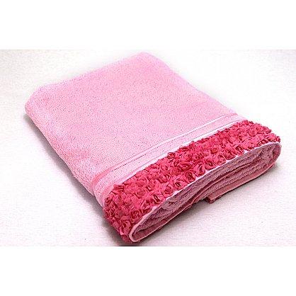 Полотенце Roses, розовый 70*140 (2000000000428-r), фото 1