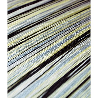 Кисея нитяная штора на кулиске радуга №101 (R-101), фото 2