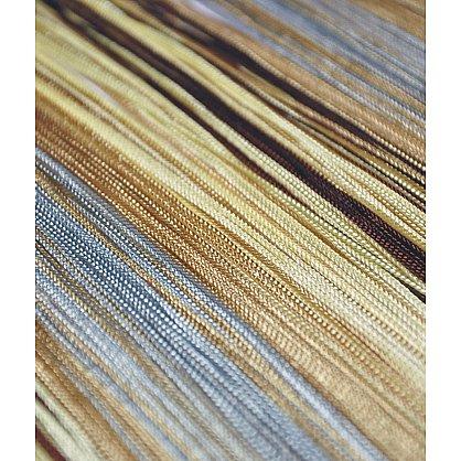 Кисея нитяная штора на кулиске радуга №103 (R-103), фото 3