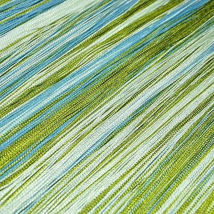 Кисея нитяная штора на кулиске радуга №105 (R-105), фото 3