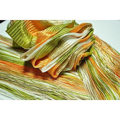Кисея нитяная штора на кулиске радуга №106 (R-106), фото 4