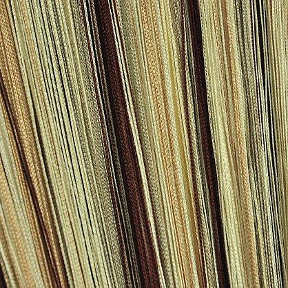 Кисея нитяная штора на кулиске радуга №107 (R-107), фото 3
