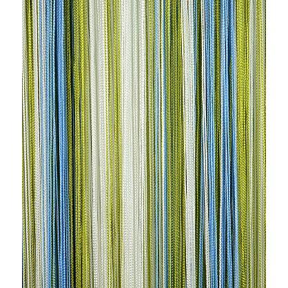 Кисея нитяная штора на кулиске радуга №105 (R-105), фото 2