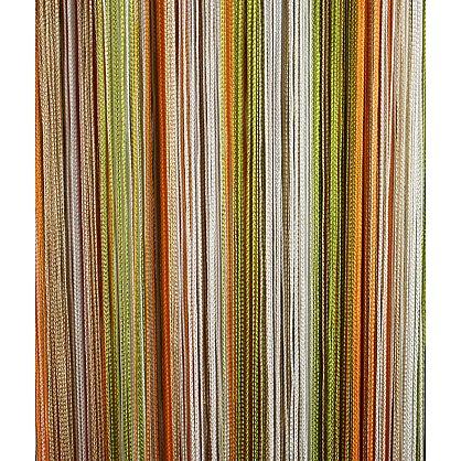 Кисея нитяная штора на кулиске радуга №106 (R-106), фото 3