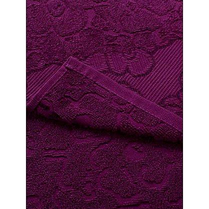 """Полотенце махровое 40*75 """"Португалия"""" new модель Viola бургунди 39 (172126), фото 2"""