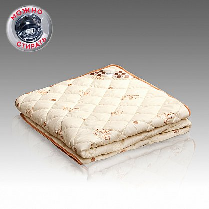 "Одеяло ""Меринос"" Люкс термопласт, полисатин (gr-mer-poli-termo), фото 1"