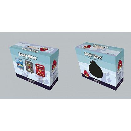 Плед детский Angry Birds №02, голубой, 150*200 см-A (tg-3024-02-A), фото 2