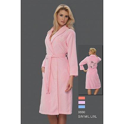 Халат женский Virginia Secret, Розовый, р. M/L (46-48) (tg-100306), фото 1