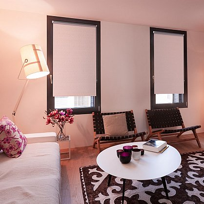 "Рулонная штора ролло блэкаут ""Аспен"", розовое дерево (ax-200061-gr), фото 1"