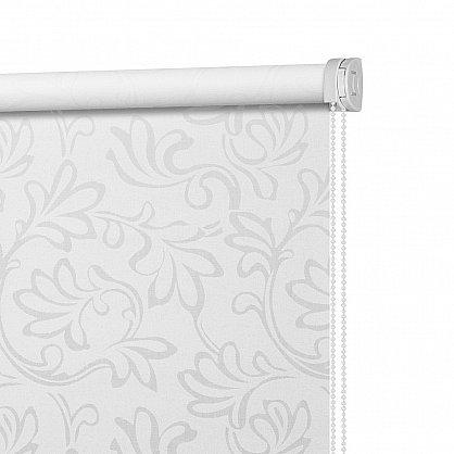 """Рулонная штора ролло burnout """"Нежность"""", белый, 60 см (ax-100200), фото 4"""