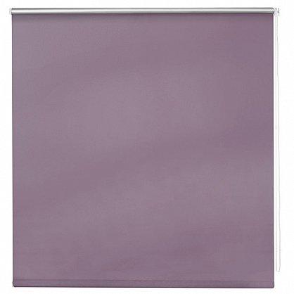 """Рулонная штора ролло блэкаут """"Лаванда"""", фиолетовый (ax-200039-gr), фото 3"""