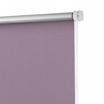 """Рулонная штора ролло блэкаут """"Лаванда"""", фиолетовый (ax-200039-gr), фото 4"""