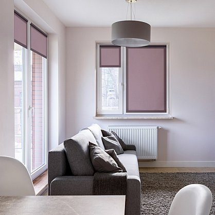 """Рулонная штора ролло """"Лаванда"""", фиолетовый, 40 см (ax-100363), фото 1"""