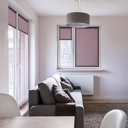 """Рулонная штора ролло """"Лаванда"""", фиолетовый, 100 см (ax-100367), фото 1"""