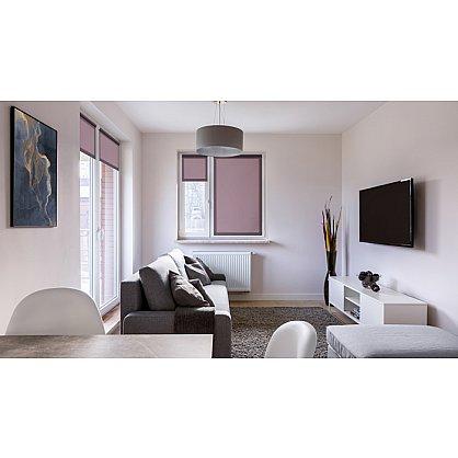 """Рулонная штора ролло """"Лаванда"""", фиолетовый, 100 см (ax-100367), фото 4"""