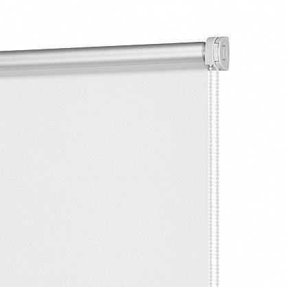 "Рулонная штора ролло однотонная блэкаут ""Белый"" (ax-200066-gr), фото 4"