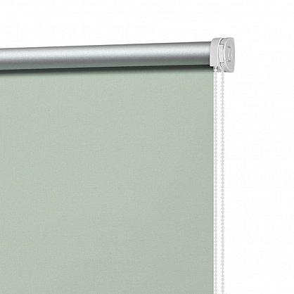 """Рулонная штора ролло """"Однотонная блэкаут"""", олива, 100 см (ax-100272), фото 4"""