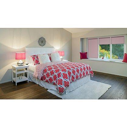 """Рулонная штора ролло """"Пыльная роза"""", розовый, 80 см (ax-100336), фото 2"""