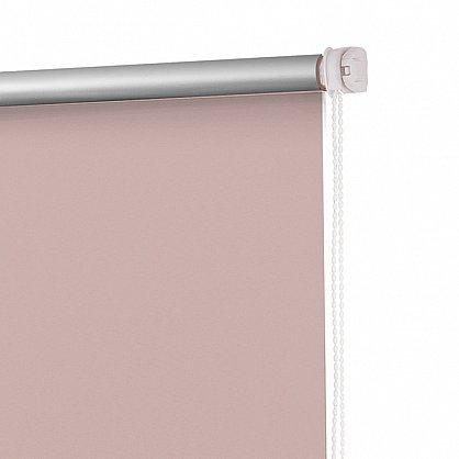 "Рулонная штора ролло блэкаут ""Пыльная роза"", розовый, 40 см (ax-100338), фото 4"