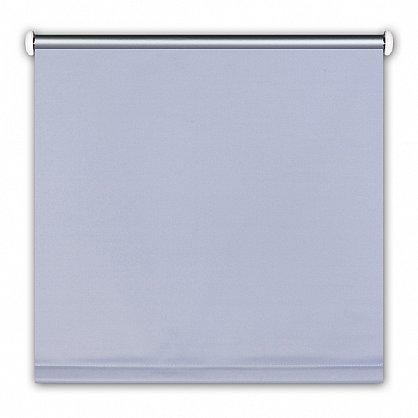 "Рулонная штора ролло ""Однотонная блэкаут"", серебристо-серый, 50 см (ax-100274), фото 3"