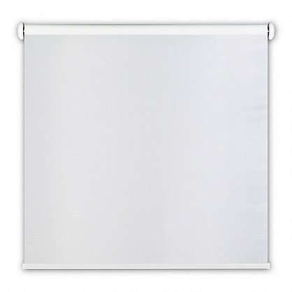 "Рулонная штора ролло blackout ""Штрих"", белый, 100 см (ax-100192), фото 3"