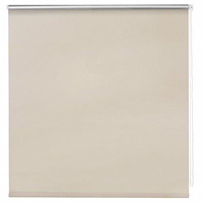 """Рулонная штора ролло блэкаут """"Слоновая кость"""", бежевый, 40 см (ax-100348), фото 3"""