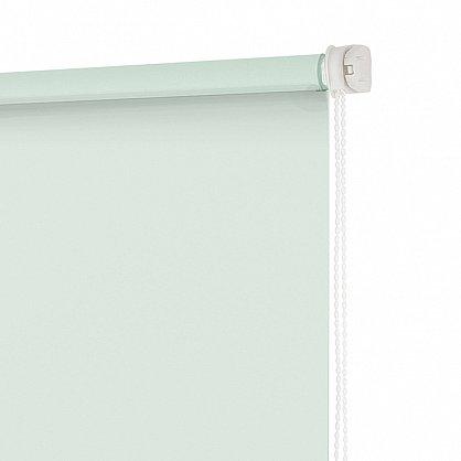 """Рулонная штора ролло """"Свежая мята"""", зеленый, 50 см (ax-100374), фото 4"""