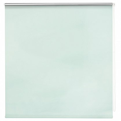 "Рулонная штора ролло блэкаут ""Свежая мята"", зеленый, 80 см (ax-100381), фото 2"