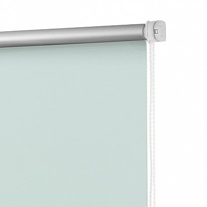 "Рулонная штора ролло блэкаут ""Свежая мята"", зеленый, 80 см (ax-100381), фото 3"
