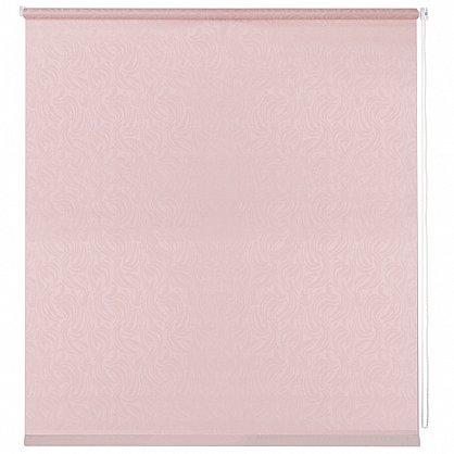 """Рулонная штора ролло """"Волнистые узоры"""", розовый, 50 см (ax-100299), фото 3"""