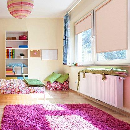 """Рулонная штора ролло жаккард """"Аспен"""", розовое дерево (ax-200060-gr), фото 1"""