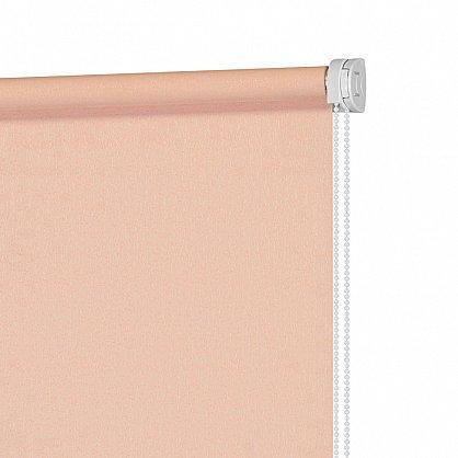 """Рулонная штора ролло жаккард """"Аспен"""", розовое дерево (ax-200060-gr), фото 4"""