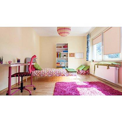 """Рулонная штора ролло жаккард """"Аспен"""", розовое дерево (ax-200060-gr), фото 2"""