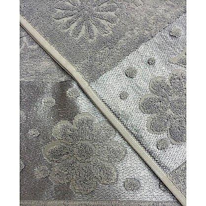 """Набор полотенец """"Florans"""",серый, 2 шт. (F-florans-se), фото 3"""