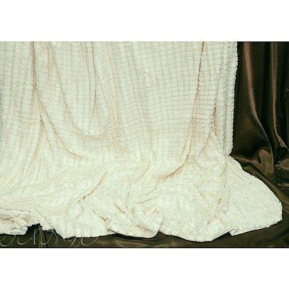 Покрывало меховое Касабланка, молочный, 220*240 см-A (tg-DCT516-2104-A), фото 1