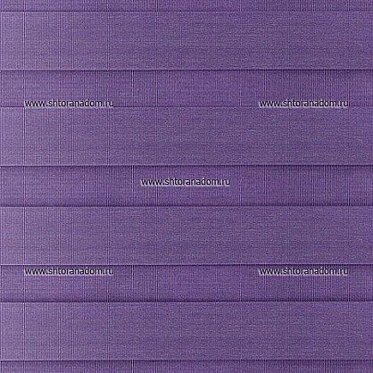 """Рулонная штора """"День-ночь Фиолетовый"""" (409-gr), фото 4"""