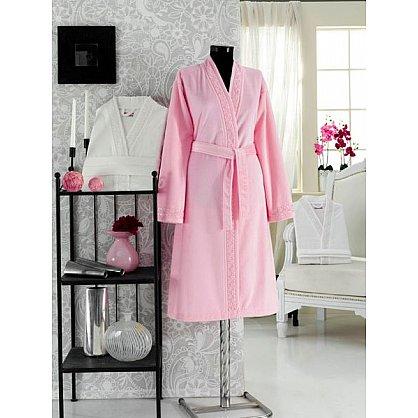 Халат женский Virginia Secret, Розовый, р. M/L (46-48) (tg-100308), фото 1