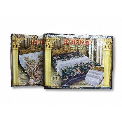 Покрывало Barokko №15-028, бирюзовый, бежевый, 200*220 см-A (mn-15-028-200-A), фото 2