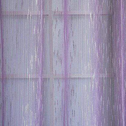 "Тюль ""Рэйн Сиреневый"", 490*275 см (ml-100378), фото 2"