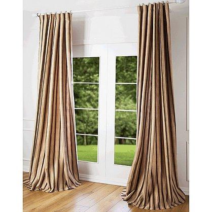 Комплект штор Риволи, коричневый, 240*270 см (bl-100133), фото 1